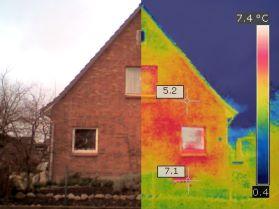 Thermografie einer Innobilie in Rethwisch/Kreis Stormarn